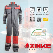 cotton flame retardant coverall suit for workman