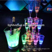 Завод Продажа романтический активные Светодиодные Питьевая Стекло жидкое