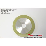 1A1  vitrified bond diamond grinding wheel for ceramic for pcd tools miya@moresuperhard.com
