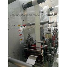 Recto-verso adhésifs, plastique adhésifs, autocollants étiquettes, papier, Film, mousse Machine Die-coupe rotative