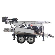 Anhängermontierte Diesel-Wasserbrunnenbohrgeräte
