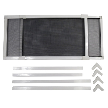 "Customized Supplier for Magnet Strip Door Screen Adjustable Insect Window Screen 10"" to 37"" export to Chile Exporter"