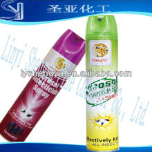 Aerosol eficaz del aerosol del mosquito 400ml que llena el aerosol industrial