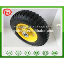 3.00-4 2,50-4 4.00-8 3.50-8 12-дюймовый зеленый pu пены колеса