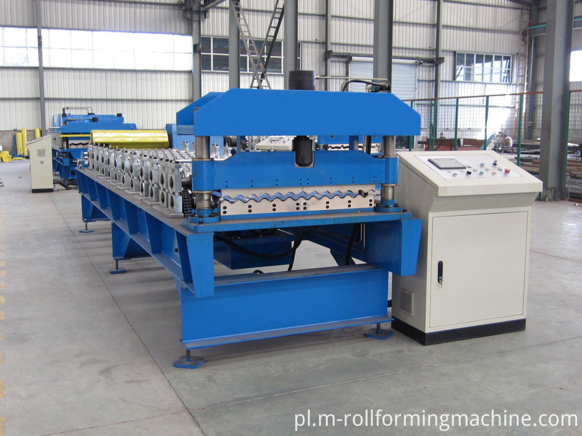 corrugated roofing sheet making machine