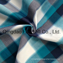 Cotton Yarn Dyed Shirting Fabric (QF13-0220)