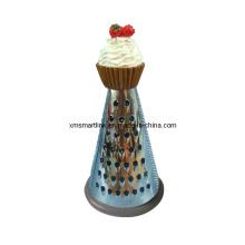 Polyresin Kuchen Dekor Küche Reibe