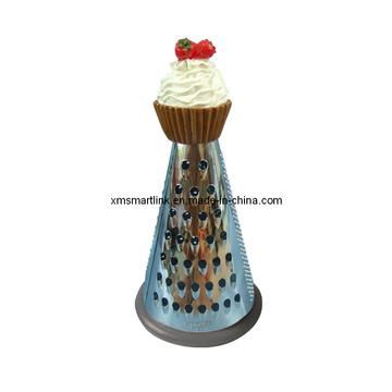 Polyresin Cake Decor Kitchen Grater