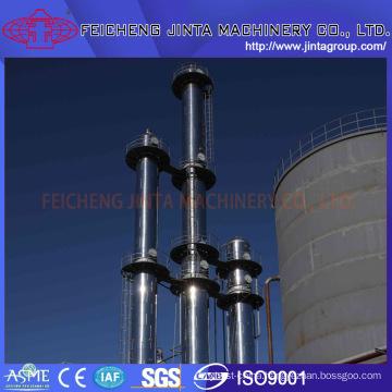99.9% Alcohol/Ethanol Distillation Collumn Alcohol/Ethanol (fuel ethanol) Equipment