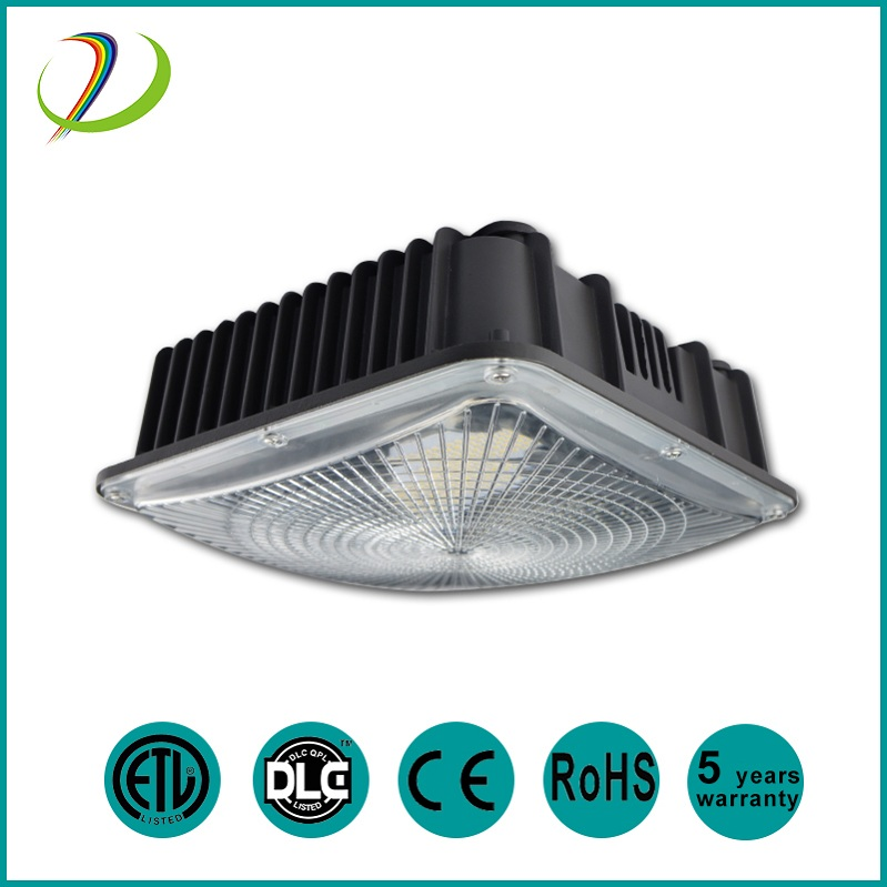 DLC ETL high bay led canopy light