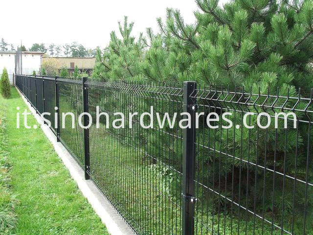 3d bending welded wire fence