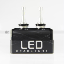Little Headlight LED Carlamp Electric T5 H10 Bulbs 4200LM 6000K with Turbo Fan