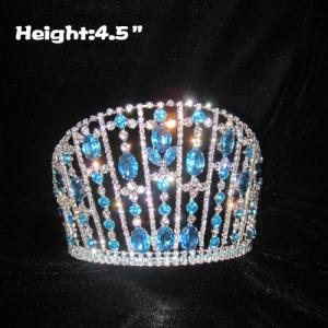 Big Blue Diamond Queen Crowns Coronas del concurso