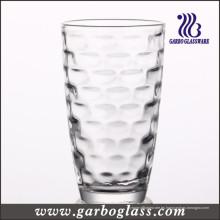 Copas de vidrio prensadas (GB027009BK)