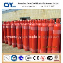50L oxygène nitrique Lar acétylène 150bar / 200bar cylindre à gaz en acier sans soudure
