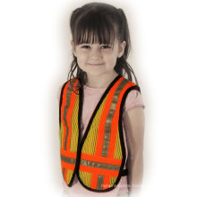 Children′s Safety Vest in 100%Polyester Mesh