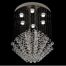 customized light chandeliers fancy crystal lamp