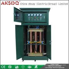Produto de venda a quente Servidor de 3 fases com estabilizador de tensão de energia compensado automático completo ou regulador 500kva para o hospital Yueqing