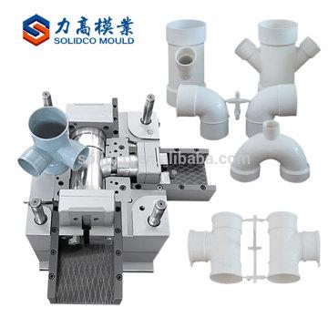 Moldeo plástico de alta calidad vendedor caliente de la inyección de la precisión del tubo del Pvc de la alta calidad