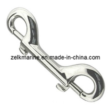 Stainless Steel Double Eye Bolt Snap Hook