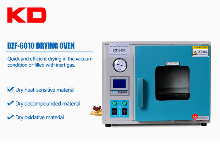 Digital Display Drum Wind Vacuum Drying Oven