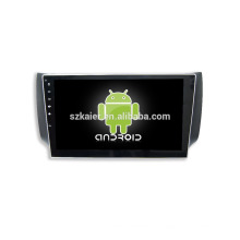 Quad core! Android 6.0 voiture dvd pour NISSAN SYLPHY avec écran capacitif 10,1 pouces / GPS / Mirror Link / DVR / TPMS / OBD2 / WIFI / 4G