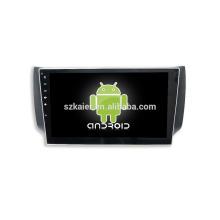 Quatro núcleos! Android 6.0 carro dvd para NISSAN SYLPHY com 10.1 polegadas Tela Capacitiva / GPS / Link Espelho / DVR / TPMS / OBD2 / WIFI / 4G