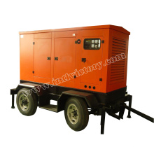 20kVA ~ 250kVA Soundproof Tralier Generador móvil con CE / ISO / CIQ