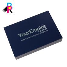 Caja de papel personalizada impresa de alta calidad de la cartulina con venta al por mayor magnética