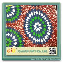 100 % coton cire africaine Batik tissu coton cire
