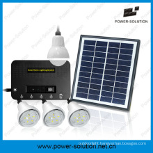 Solar Home Lighting System Can Light up 4 Rooms for 8 Hours with Phone Charger