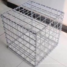 Custom galvanized welded rock gabion basket garden fence gabion for retaining wall