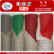 100%Polyester Needle Punched Nonwoven Plain Exhibition Carpet