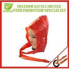 Cordón de publicidad impreso de calidad superior con capucha de lluvia