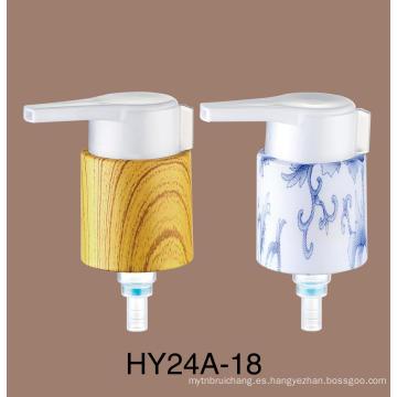 China Zhejiang Supplier Plastic Shampoo Bottle Loción Bomba Tornillo Líquido Jabón Dispensador Loción Bomba