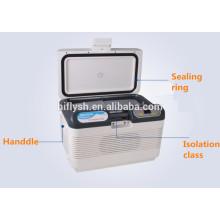 HF-15L (108) DC 12V / AC 220 V voiture réfrigérateur voiture refroidisseur mini portable maison et voiture double usage voiture réfrigérateur (certificat CE)