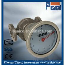 Medidores de flujo de aceite pesado LC Oval Gear