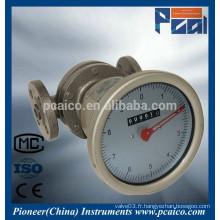 Débitmètres à huile lourde LC Oval Gear