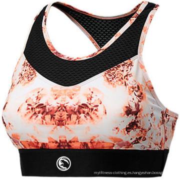 Dri-Fit Yoga Bra, sujetador deportivo, sujetador deportivo de la fábrica de China, desgaste de las mujeres
