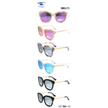 2016 Fashionable Woman New Style Acetate Sunglasses (HMS473)