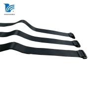 Nylon Strap Hook Loop Leather Buckle Strap