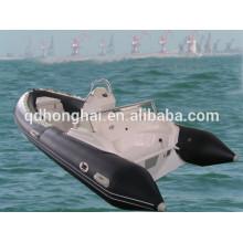 venta caliente de 2015 barco inflable de la costilla HH-RIB470C con CE