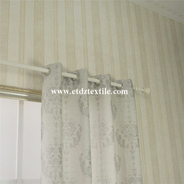 Popular Linen Pattern Curtain Fabric
