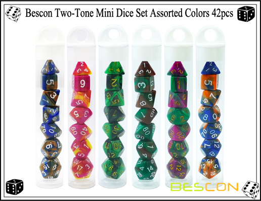 Mini Dice Sets 42pcs-1