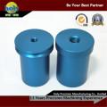 Rohr-Buchse-Farbe anodisierte CNC-Aluminiumbearbeitung Fall-CNC-Drehteile