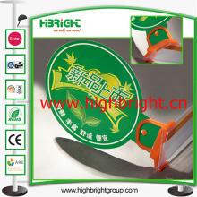 Pop Display Plastic Clip para estanterías de supermercado