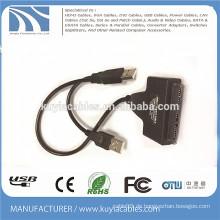 USB2.0 zu SATA 20pin Kabel 2 in 1 Arbeit mit 2.5 '' 3.5 '' Zoll HDD Festplatte