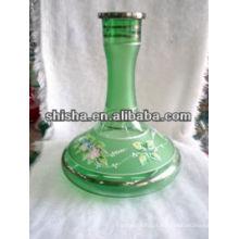 Szie grande artesanal shisha garrafa, garrafa de cachimbo de água, vaso de cachimbo de água de alta qualidade