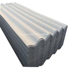 ПВХ-волокнистые цементные гофрированные кровельные листы