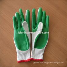 FURUNDA Bu Gummihandschuhe beschichtete Baumwollhandschuhe für Großhandel